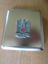 Bayern Wappen Löwen Preussen Krone Zigaretten Etui Wehrmacht WW2 WK2 Cig Case