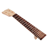 Wooden Ukulele Neck and Fretboard for Beginer and Music Lover DIY Parts
