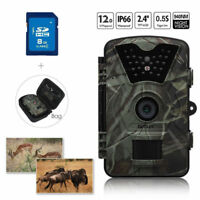 8GB 12MP Hunting Camera Trail Scouting Wildlife Security+Portable Bag Waterproof