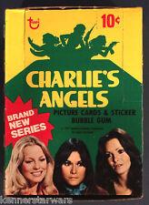 1977 Topps CHARLIE'S ANGELS 4th Series Wax Box (Full 36x Packs)