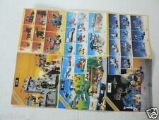 LEGO BROCHURE FLYER CATALOG TOYS 1984 LEGOLAND DUTCH 2 PAGES 103