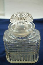 ANTIQUE APOTHECARY BOTTLE JAR WITH STOPPER EAPG GLASS PHARMACY CANDY DRUG STORE