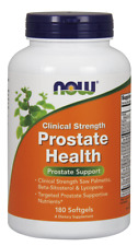 Prostate Health Clinical Strength 180 Softgels NOW Foods Fresh *Free Shipping*