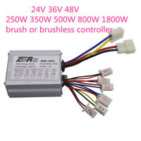 24V 36V 48V 1800W 800W 500W Electric Speed Controller Box Brush Brushless ATV