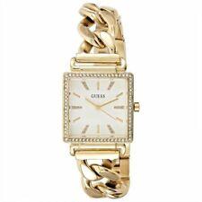 Orologio Donna GUESS VANITY W1030L2 Acciaio Gold Dorato Bianco Swarovski
