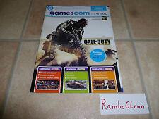 GAMESCOM 2014 Zeitschrift Magazin Heft AUSGABE 1 N-Zone Video Games PS4 Nintendo