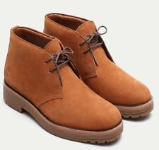 Timberland Folk Gentleman Chukka Rust Nubuck Men's Boots Shoes UK 8.5 / EU 43