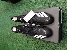 Adidas AdiZero 5-Star 7.0 SK Black/ White Mid High Football Cleats B27977