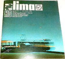 LIMA catalogo 1970/71 H0 Å