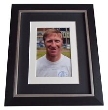 Jack Charlton Signed 10x8 Framed Photo Autograph Display Leeds United COA