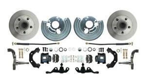 Mopar A Body Standard Disc Brake Conversion Kit w/ Black Calipers Dodge Plymouth