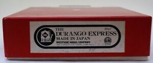 Hon3 Brass Westside Model Co The Durango Express Locomotive & Car Set, Unpainted