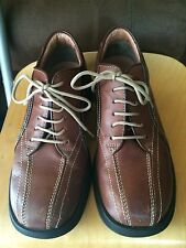Steve Madden Maximus mens oxfords sneakers comfort shoes sz 8 brown leather