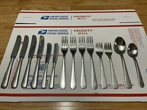 Gense 18/8 Stainless Thora Sweden Flatware Set of 14 Pieces