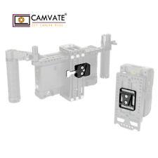 "CAMVATE Quick Release Male & Female V-Lock Plate Kit 1/4""-20 for Camera Battery"