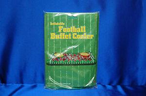 Touchdown Buffet Cooler Inflatable Football Ice Buffet 52 x 28 in