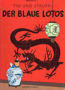 Tim und Struppi von Hergé * Farbfaksimile * Band 4: Der Blaue Lotos * Z2