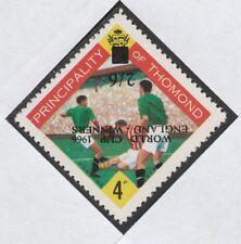 Ireland - Thomond 4012 -1966 FOOTBALL with ENGLAND WINNERS OPT INVERTED u/m