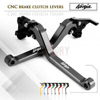 CNC Long Lever Brake Clutch Lever for KAWASAKI NINJA 400 Z400 EX400 2018-2019