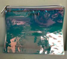 Sephora Holographic Clear Makeup Bag with Zipper
