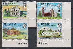 BERMUDA 1970 - 350th Anniversary of Bermuda Parliament SG 266-269 MNH POLITICS