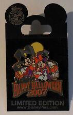 Disney Pin WOD NYC Happy Halloween 2007 Mickey & Minnie Pin New LE1000