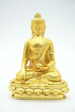 Tibetan Buddhism Shakyamuni Buddha Statue Golden Statue