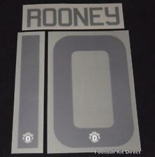 Manchester United Rooney 10 2016/17 Europa League football shirt Name set FA Cup