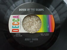 Jerry Smith  - Cream And Sugar / Down In The Dumps USA JUKEBOX 45