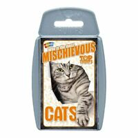 Cats Top Trumps Card Game - BRAND NEW & DIRECT FROM TOP TRUMPS USA