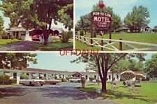 PON-DE-LON MOTEL R R 1, WALTON, KY.  Mr and Mrs T C McDonald, Owners