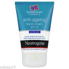 Neutrogena Norwegian Formula Anti-Ageing Hand Cream SPF25 Active Soy 50ml