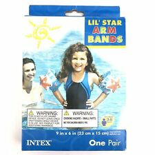 """Intex Lil' Star Inflatable Arm Bands I'm a Star Kids 9""""x6"""" Swimming Aid Floaties"""