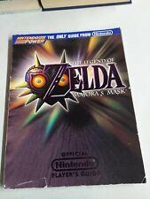 The Legend of Zelda Majora's Mask Nintendo Power Player's Guide N64 Strategy