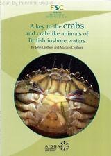 Una CHIAVE PER I GRANCHI E GRANCHIO-come gli animali delle acque britanniche Costiera da J.H. croth