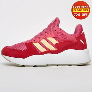 Adidas Crazychaos Women's Casual Gym Fitness Jogging Trainers Red