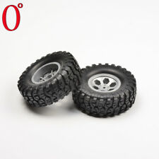 HSP Rgt 68138 Pre-mounted 2.2 Grey Wheels & Tires 12mm Hex RC 1/10 Rock Crawler
