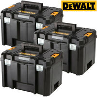 3 x DeWALT DWST1-71195 TSTAK VI Deep Tool Box Storage Case 23L NO Tote Tray
