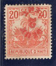 Haiti Scott # 45a - unused -  inverted surcharge