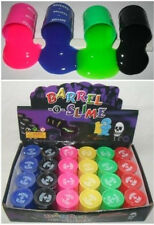 6 PACK Barrel O Slime Goo Silly Putty Gag Kids Toys Prank Party Favors Joke