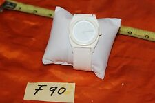 "Nixon Minimal ""The Time Teller"" White  Watch F90"