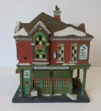 New ListingDepartment 56 Molly O'Brien's Irish Pub Christmas In The City 1999 Damaged