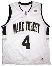Vintage Wake Forest Demon Deacons Ncaa Basketball Jersey Mens Dodger Large