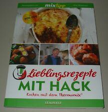 Lieblings Rezepte Hack Kochen mit dem Thermomix mixtipp TM5 TM31 Kochbuch Buch!