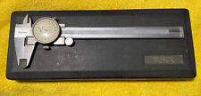Mitutoyo No 505 493 6 Dial Caliper With Case