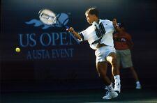 Michael Chang USA US Open Tennis original signiert Autograph Foto (M-4583+