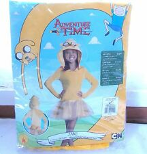 New Rubie's Adventure Time Jake Girls Halloween Costume Small 4-6