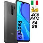 XIAOMI REDMI 9 DUAL SIM 64GB GREY GARANZIA ITALIA NO BRAND