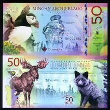 Canada, Mingan Archipelago National Park, Quebec, 50 dollars, Polymer, 2019