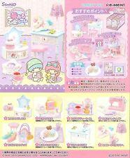 Re-Ment Miniature Sanrio Little Twin Stars Maiden Dream Room Full Set of 8 pcs